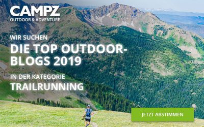 Nominiert als Kandidat Top Outdoor Blog